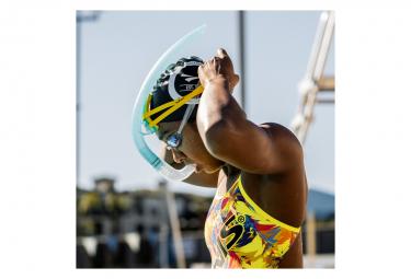 FINIS Stability Snorkel Yellow - Tuba Frontal Natation