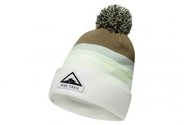 Bonnet Nike Trail Blanc Blanc / Vert Unisex