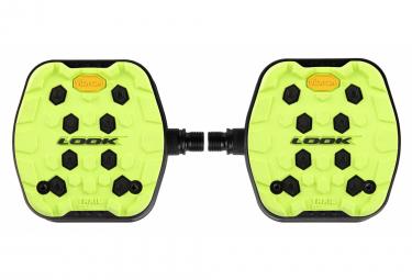 Pedali piatti Look Trail Grip Lime