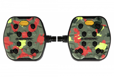 Look Trail Grip Flat Pedals Camo