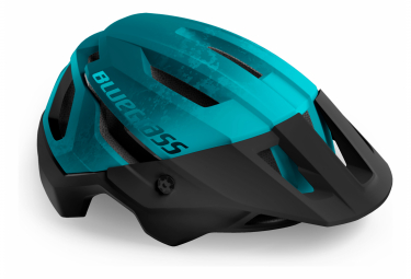 Casque VTT Bluegrass Rogue Bleu Petrol Mat 2021