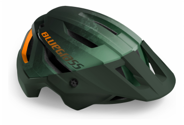 Casque VTT Bluegrass Rogue Vert Orange Mat 2021