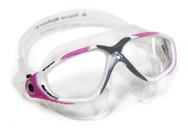 Lunettes de bain aqua sphere vista femme transparent rose verres clairs