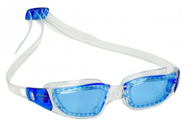 Gafas De Natacion Michael Phelps Tiburon Blanco Azul Azul Lentes