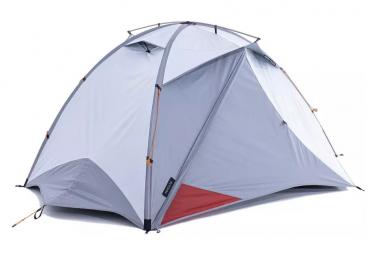 Tente Dome Trekking Forclaz Trek 500 Fresh and Black 3 saisons 2 Personnes Grise