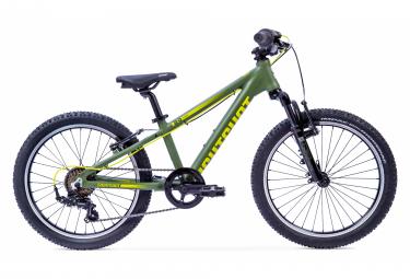 VTT Semi-Rigide Enfant Eightshot X-Coady 20 FS 20'' Vert / Kaki 6 - 8 ans