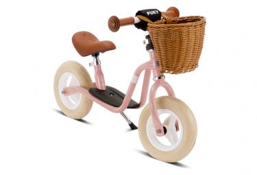 Bicicleta sin pedales puky lr m classic 12 5   rosa 2 5 anos