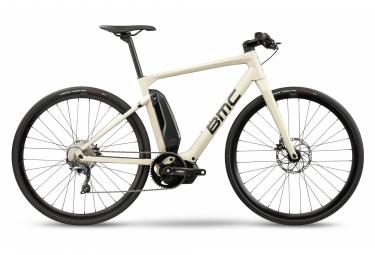 Vélo de Ville Électrique Sportif BMC Alpenchallenge AMP Sport Two Shimano Ultegra 11V Beige 2021