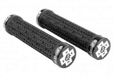 Joystick X Logo Lock-On Grips Black