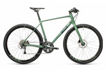 Bicicleta de ciudad Cube SL Road Pro Fitness Shimano Tiagra 10S 700 mm Verde 2021