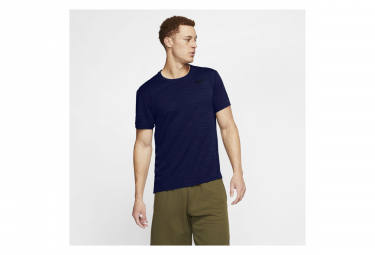 Maillot manches courtes Nike Superset Training Bleu Homme