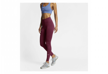 Collant Long Nike All-In Rouge Femme