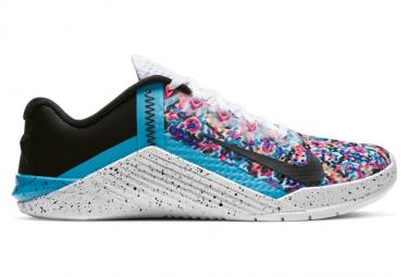 Zapatillas Nike Metcon 6 para Mujer Blanco / Azul / Rosa