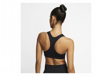 Brassière Nike Swoosh Noir Femme