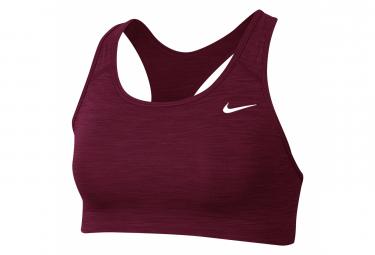 Brassière Nike Swoosh Rouge Femme