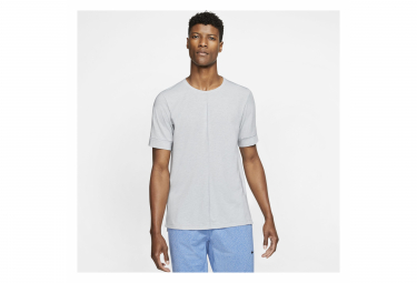 Maillot manches courtes Nike Dri-Fit Yoga Gris Homme