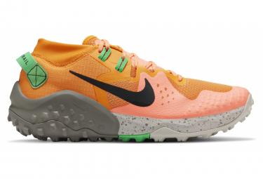 Chaussures de Trail Nike Wildhorse 6 Orange Vert Homme