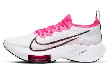 Chaussures de Running Femme Nike Air Zoom Tempo Next% Blanc / Rose