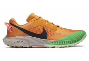 Nike Air Zoom Terra Kiger 6 Orange Grüne Herren Trail Schuhe