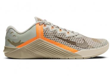 Zapatillas Nike Metcon 6 para Hombre Gris / Marrón / Naranja