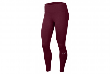Nike Epic Lux Long Tights Rojo Mujer M