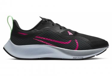 Nike Air Zoom Pegasus 37 Shield Running Shoes Black Pink Men