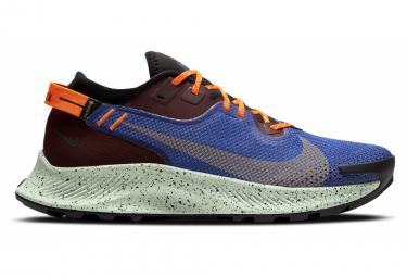 Chaussures de Trail Nike Pegasus Trail 2 GTX Bleu Rouge Orange Homme