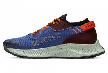 Chaussures de Trail Femme Nike Pegasus Trail 2 GTX Bleu / Orange