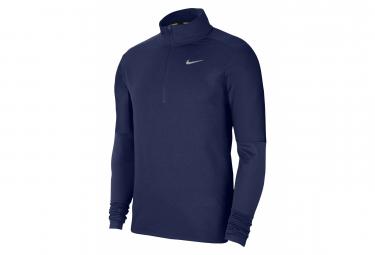 Maillot manches longues 1/2 Zip Nike Dri-Fit Element Bleu Homme