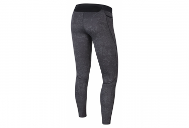 Collant Long Nike Pro Training Gris Homme