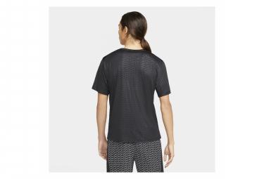 Maillot manches courtes Nike Miler Run Division Noir Homme
