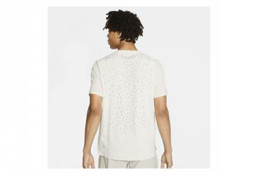 Nike Run Division Adapt Camiseta de manga corta blanco Hombre