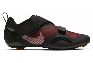 Chaussures de Vélo Spinning Nike SuperRep Cycle Noir Rouge Homme