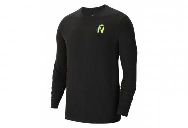 T-Shirt manches longues Nike Dri-FIT Trail Noir Homme