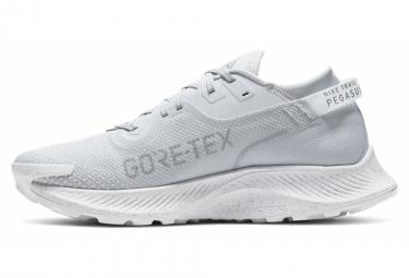 Chaussures de Trail Nike Pegasus Trail 2 GTX Blanc / Gris