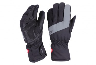 BBB SubZero Full Fingers Winter Gloves Negro / Gris