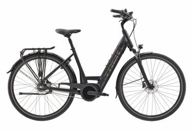 Bicicleta Ciudad Mujer Trek District+ 6 Lowstep Noir / Argent