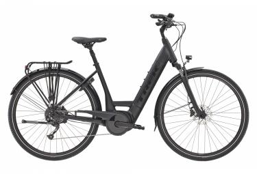 Bicicleta eléctrica urbana Trek Verve + 3 Lowstep 400wh Shimano Altus 9V Matte Trek Black 2021