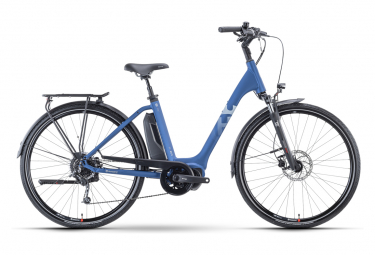 Vélo de Ville Électrique Husqvarna Eco City 3 Shimano Deore 9V 500 Bleu 2021