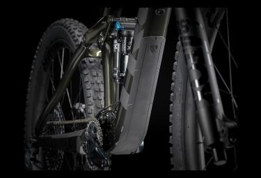 Trek Remedy 9.8 27.5 '' Vollfederung MTB Sram GX Eagle 12V Glanz Schwarz Oliv / Matt Dnister Schwarz 2021