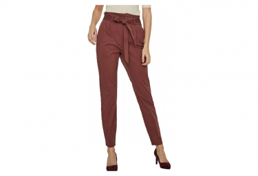 Pantalon rouille femme  Vero Moda