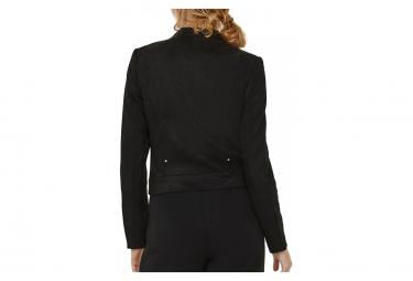 Veste noir en suède femme Vero Moda