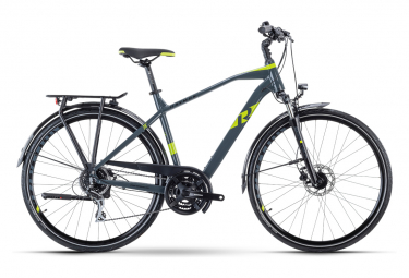 Bicicleta Cicloturística R Raymon TourRay 3.0 Gris / Vert