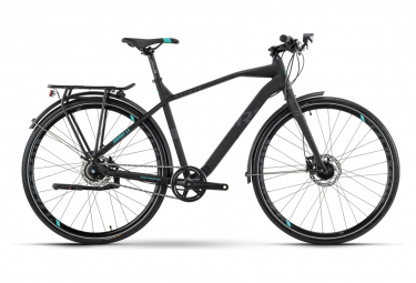 Bicicleta urbana R Raymon UrbanRay 3.0 Fitness Shimano Alfine 11S 700 mm Negro Gris oscuro 2021
