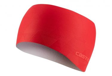 Bandeau Castelli Pro Thermal Rouge