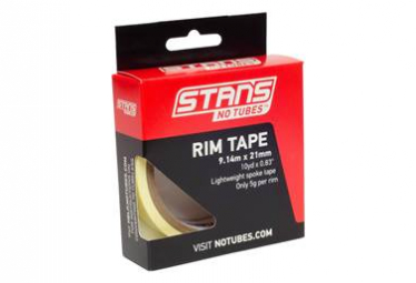 Stan's NoTubes - Yellow Tape 21mm (10YD)