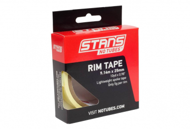 Stan's NoTubes - Yellow Tape 25mm (10YD)