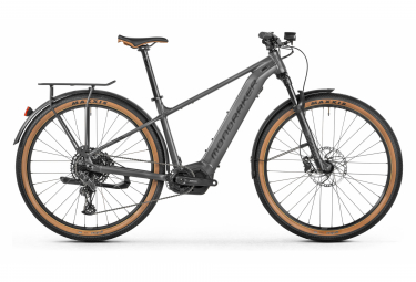 Bicicleta Híbrida Eléctrica Mondraker Thundra X 29'' Gris