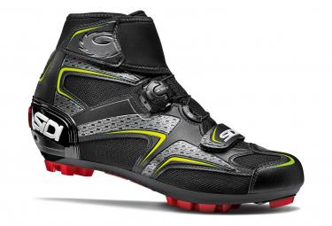 Chaussures VTT Sidi Frost Gore Noir / Jaune