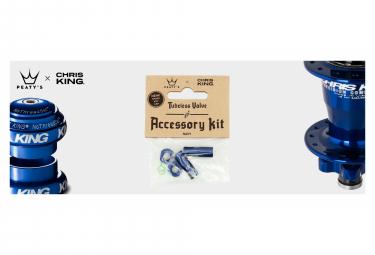 Accessoires de Valve Tubeless Peaty's x Chris King (MK2) Navy